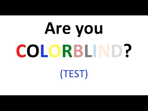 Brain Test: are you colour blind?