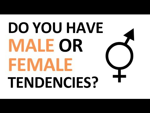 Personality test: Are you more Female or Male?