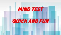 Quick and Fun Mind Test